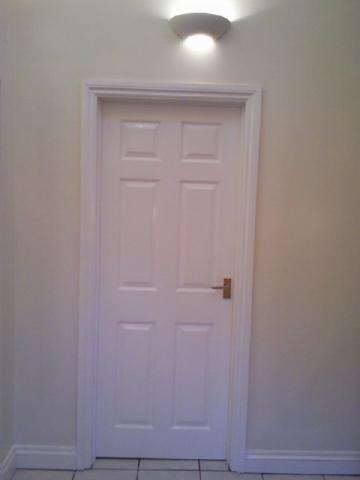 how to decide to varnish or paint a door